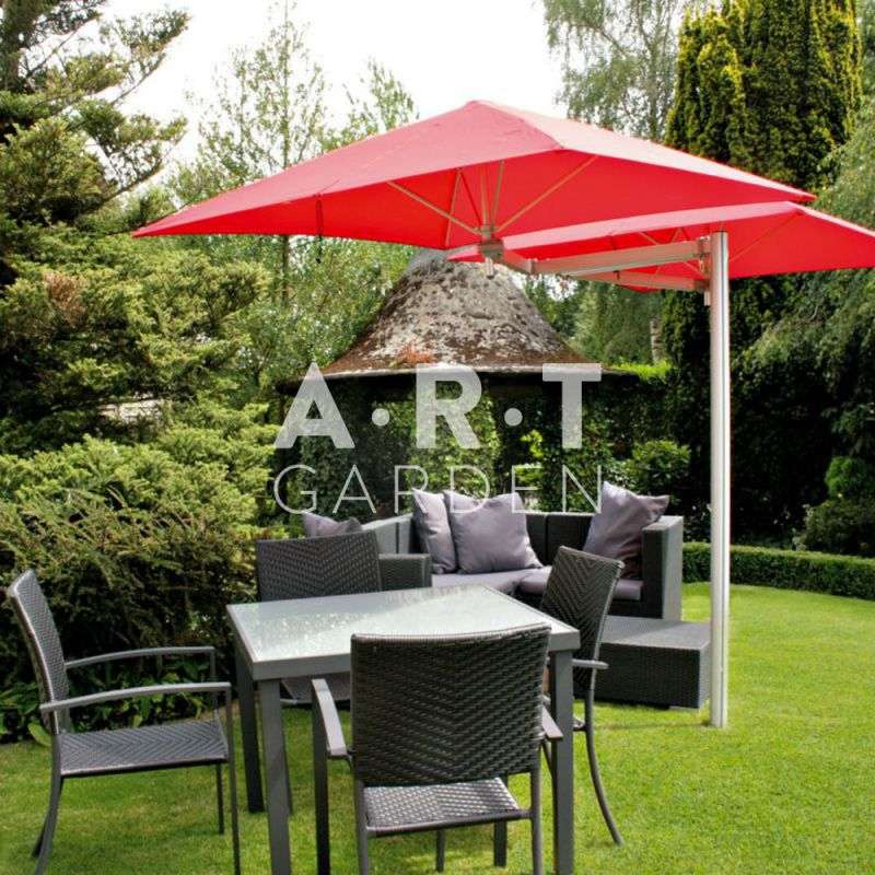 parasol mural r sistant au vent 4 livraison gratuite. Black Bedroom Furniture Sets. Home Design Ideas