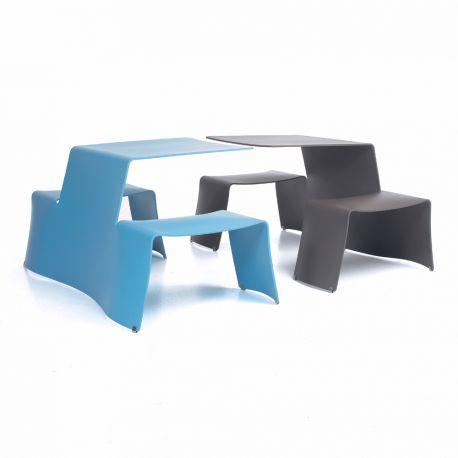 TABLE EXTÉRIEUR DESIGN EXTREMIS