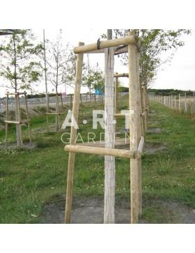 Natte de Bambous fendus pour tronc - Haut. 2m / RL 5m