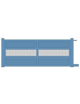 Portail coulissant aluminium Laloubere