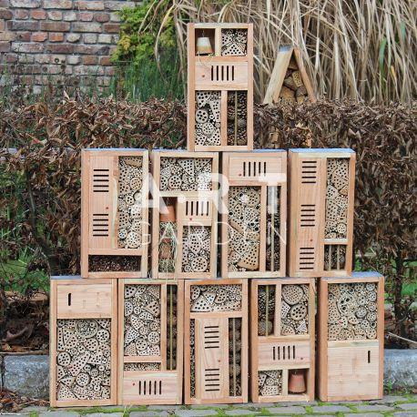 H tel insectes boite design pour votre jardin for Hotel a insecte acheter