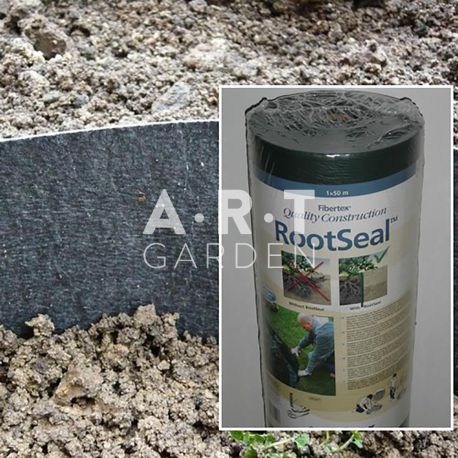 Barriere anti rhizome non tissé 340g/m² largeur 65cm