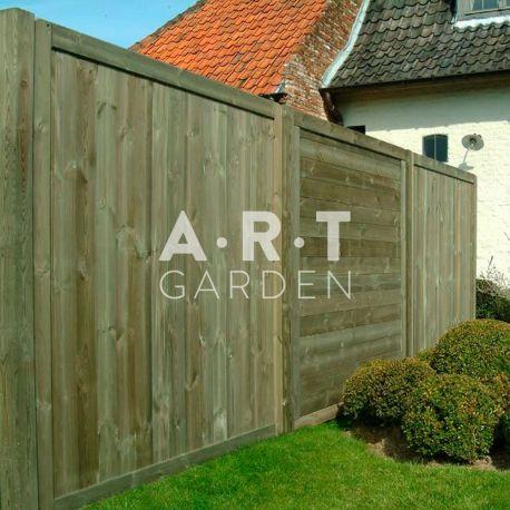 Brise Vue Discret brise vue occultant forte pour clôture décorative, imprégnée en