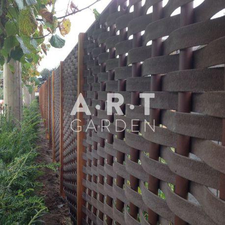 panneau tressage fibre plate composite imitation bois. Black Bedroom Furniture Sets. Home Design Ideas