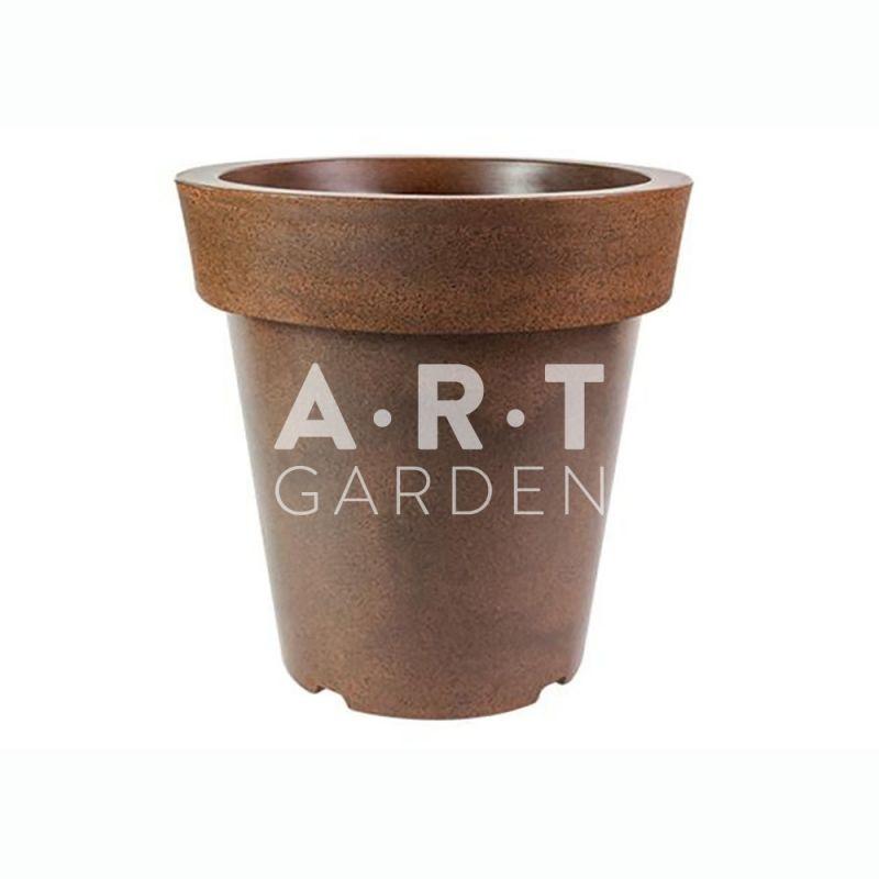 Grand pot fleur rond plastique pas cher pour jardin et - Pot terrasse design pas cher ...