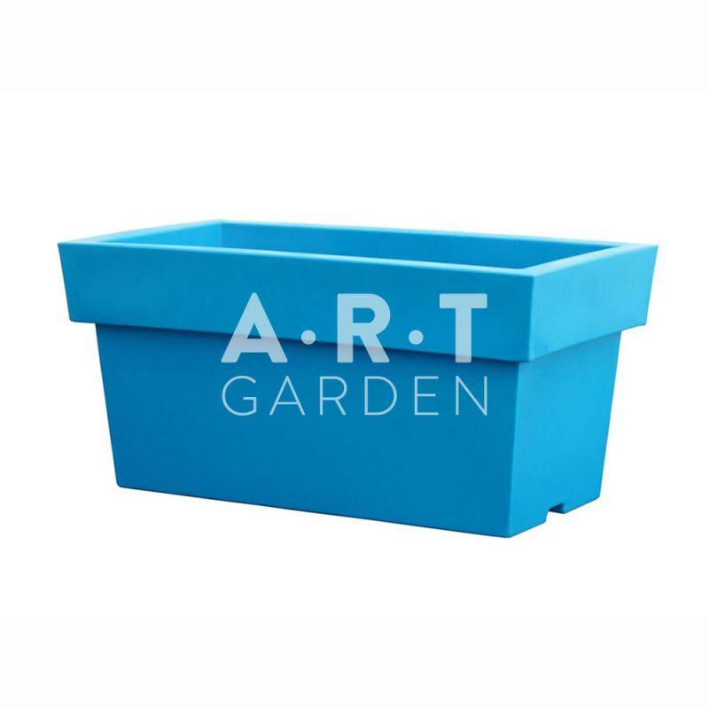 Jardiniere rectangulaire plastique design et color e - Jardiniere plastique rectangulaire ...