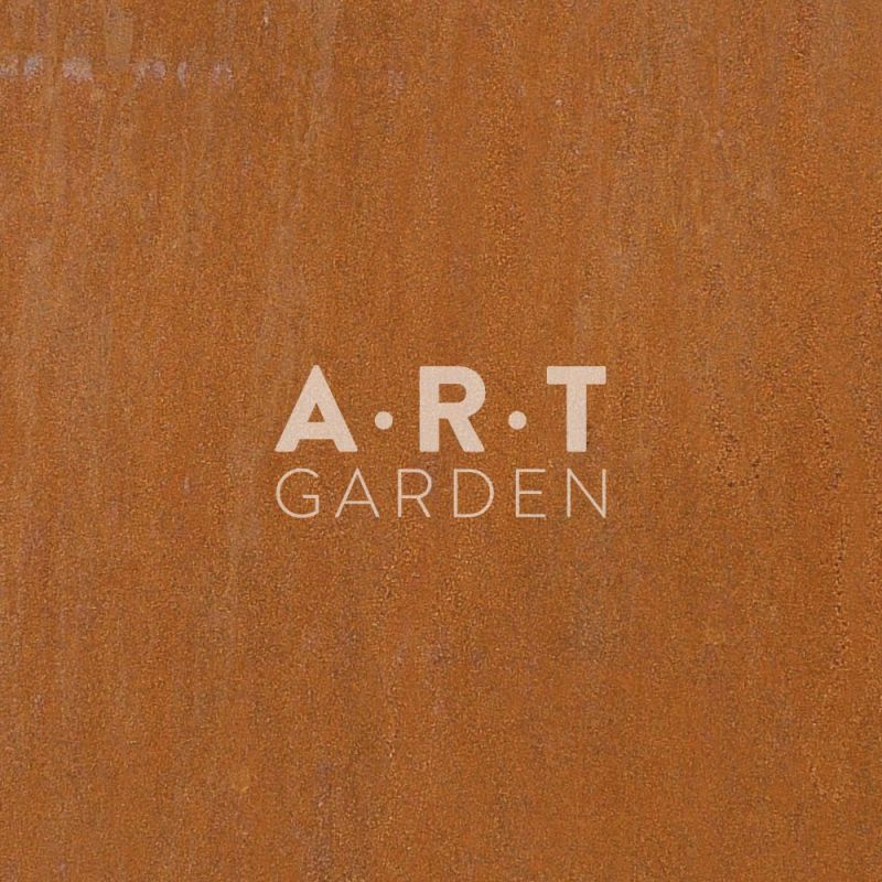 Jardini re m tal rectangulaire en acier corten stabilis for Art minimal livre