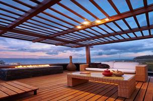 terrasse en lambourde